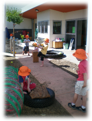 Children at the Glen Iris Road Uniting Church Kindergarten